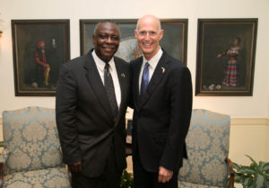 Larry Hart & Governor Scott